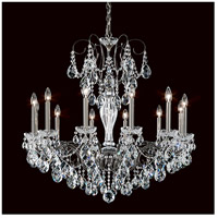Sonatina 12 Light 34 inch Black Pearl Chandelier Ceiling Light in Clear Heritage