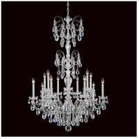 Schonbek ST1952N-40H Sonatina 14 Light 35 inch Silver Chandelier Ceiling Light in Polished Silver, Sonatina Heritage