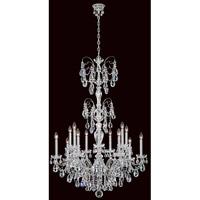 Sonatina 14 Light 35 inch Silver Chandelier Ceiling Light in Clear Swarovski