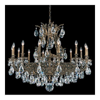 Sophia 14 Light 42 inch Midnight Gild Chandelier Ceiling Light in Clear Spectra Crystal