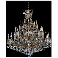 Sophia 35 Light 55 inch Florentine Bronze Chandelier Ceiling Light in Clear Spectra