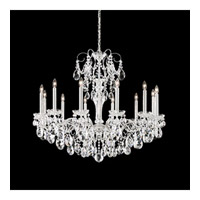 Schonbek Sonatina 12 Light Chandelier in Silver and Heritage Crystal ST1849N-40H