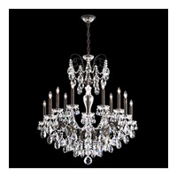 Schonbek Sonatina 14 Light Chandelier in Heirloom Bronze and Heritage Crystal ST1852N-76H