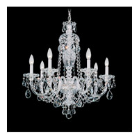 Sterling 7 Light 25 inch Silver Chandelier Ceiling Light in Clear Heritage Handcut, Polished Silver