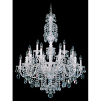 Sterling 20 Light 34 inch Silver Chandelier Ceiling Light in Clear Heritage Handcut, Polished Silver