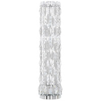 Sarella 23 inch 40 watt Stainless Steel Table Lamp Portable Light in Polished Stainless Steel, Clear Spectra
