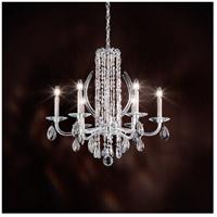 Schonbek RS8306N-48H Sarella 6 Light 25 inch Antique Silver Chandelier Ceiling Light in Heritage