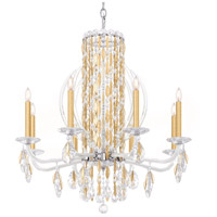 Schonbek RS8308N-22A Sarella 8 Light 30 inch Heirloom Gold Chandelier Ceiling Light in Spectra