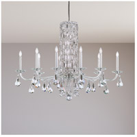 Schonbek RS83101N-401S Sarella 10 Light 41 inch Stainless Steel Chandelier Ceiling Light