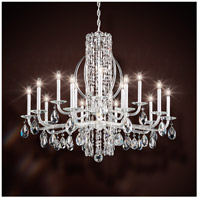 Sarella 15 Light 41 inch Stainless Steel Chandelier Ceiling Light in Heritage