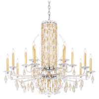 Schonbek RS8315N-06A Sarella 15 Light 41 inch White Chandelier Ceiling Light in Spectra