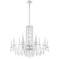 Schonbek RS8315N-401A Sarella 15 Light 41 inch Stainless Steel Chandelier Ceiling Light in Polished Stainless Steel, Clear Spectra