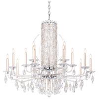 Schonbek RS8315N-48H Sarella 15 Light 41 inch Antique Silver Chandelier Ceiling Light in Heritage