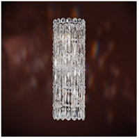Sarella 4 Light 4 inch Stainless Steel Sconce Wall Light in Swarovski