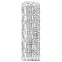Schonbek RS8331N-401S Sarella 4 Light 4 inch Stainless Steel Sconce Wall Light in Swarovski, Polished Stainless Steel