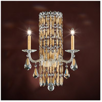 Sarella 2 Light 10 inch Heirloom Gold Sconce Wall Light in Swarovski
