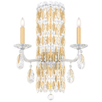 Schonbek RS8332N-22H Sarella 2 Light 10 inch Heirloom Gold Sconce Wall Light in Heritage