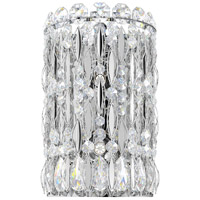 Schonbek RS8333N-401H Sarella 2 Light Stainless Steel Wall Sconce Wall Light in Polished Stainless Steel Clear Heritage