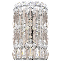 Schonbek RS8333N-48A Sarella 2 Light Antique Silver Wall Sconce Wall Light in Spectra