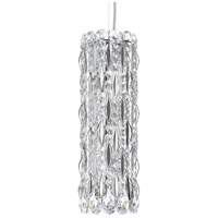 Schonbek RS8341N-401H Sarella 3 Light 5 inch Stainless Steel Pendant Ceiling Light in Polished Stainless Steel Clear Heritage