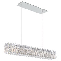 Schonbek RS8342N-48A Sarella 8 Light 37 inch Antique Silver Island Light Ceiling Light in Clear Spectra