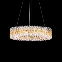 Sarella 12 Light 24 inch Heirloom Gold Chandelier Ceiling Light