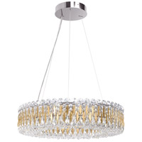 Schonbek RS8343N-22H Sarella 12 Light 24 inch Heirloom Gold Chandelier Ceiling Light in Heritage alternative photo thumbnail