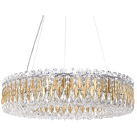 Schonbek RS8343N-22H Sarella 12 Light 24 inch Heirloom Gold Chandelier Ceiling Light in Clear Heritage