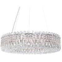 Schonbek RS8343N-48H Sarella 12 Light 24 inch Antique Silver Chandelier Ceiling Light in Heritage