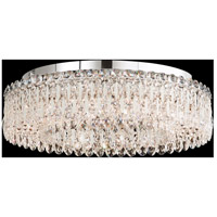 Schonbek RS8347N-48S Sarella 12 Light 24 inch Antique Silver Flush Mount Ceiling Light in Clear Swarovski