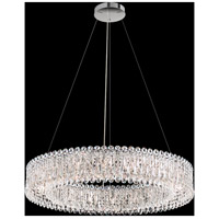 Schonbek RS8349N-48S Sarella 18 Light 36 inch Antique Silver Pendant Ceiling Light in Swarovski