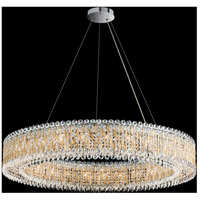 Sarella 27 Light 48 inch Polished Stainless Steel Pendant Ceiling Light in Heritage