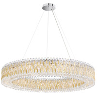 Schonbek RS8350N-22S Sarella 27 Light 48 inch Heirloom Gold Pendant Ceiling Light in Swarovski