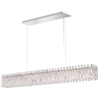 Schonbek RS8352N-401A Sarella 11 Light 5 inch Polished Stainless Steel Pendant Ceiling Light in Spectra