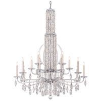 Schonbek RS8415N-48A Sarella 17 Light 41 inch Antique Silver Foyer Ceiling Light in Spectra