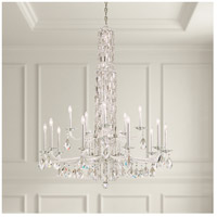Schonbek RS84151N-401A Sarella 15 Light 41 inch Stainless Steel Chandelier Ceiling Light