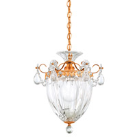 Bagatelle 1 Light 8 inch French Gold Pendant Ceiling Light in Clear Heritage