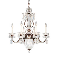 Bagatelle 7 Light 21 inch Heirloom Bronze Chandelier Ceiling Light in Clear Heritage