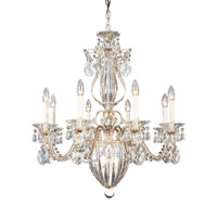 Bagatelle 11 Light 27 inch Antique Silver Chandelier Ceiling Light in Clear Heritage