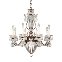 Bagatelle 11 Light 27 inch Heirloom Bronze Chandelier Ceiling Light in Clear Heritage