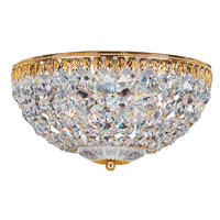 Petit Crystal 4 Light 10 inch Aurelia Flush Mount Ceiling Light in Clear Spectra