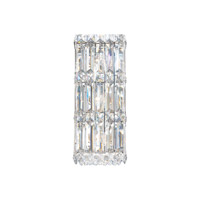 Quantum LED 5 inch Stainless Steel Wall Sconce Wall Light in Clear Spectra