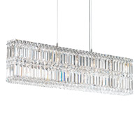 Quantum 13 Light 36 inch Stainless Steel Pendant Ceiling Light in Clear Spectra