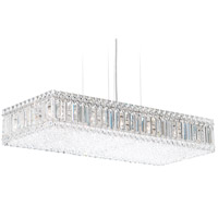 Schonbek 2273A Quantum 17 Light 30 inch Stainless Steel Pendant Ceiling Light in Clear Spectra
