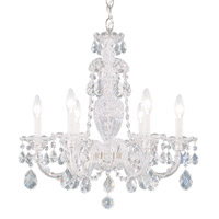 Schonbek 2994-40H Sterling 6 Light 21 inch Silver Chandelier Ceiling Light in Clear Heritage photo thumbnail