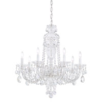 Sterling 7 Light 25 inch Silver Chandelier Ceiling Light in Clear Heritage