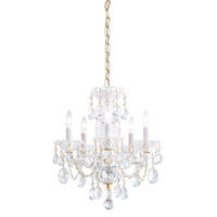 Sterling 5 Light 16 inch Aurelia Chandelier Ceiling Light in Clear Heritage