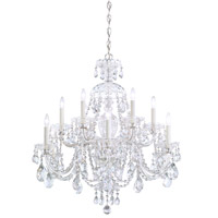 Schonbek 3601-40H Sterling 12 Light 29 inch Silver Chandelier Ceiling Light in Clear Heritage photo thumbnail