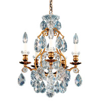 Schonbek 3769-26 Renaissance 5 Light 15 inch French Gold Chandelier Ceiling Light in Renaissance Heritage