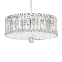 Schonbek 6670A Plaza 9 Light 15 inch Stainless Steel Pendant Ceiling Light in Clear Spectra